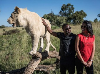 Kevin Hart & His Boo Eniko Explore South Africa