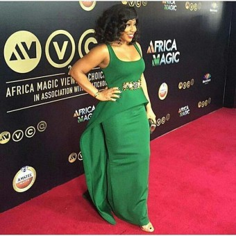 John Dumelo, Rita Dominic, Minnie Dlamini & More. Shots From The 2016 #AMVCA