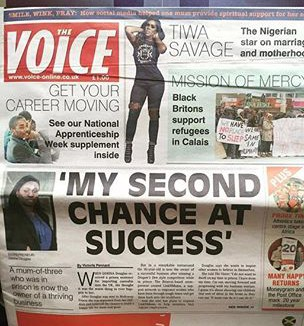 TIWA SAVAGE THE VOICE