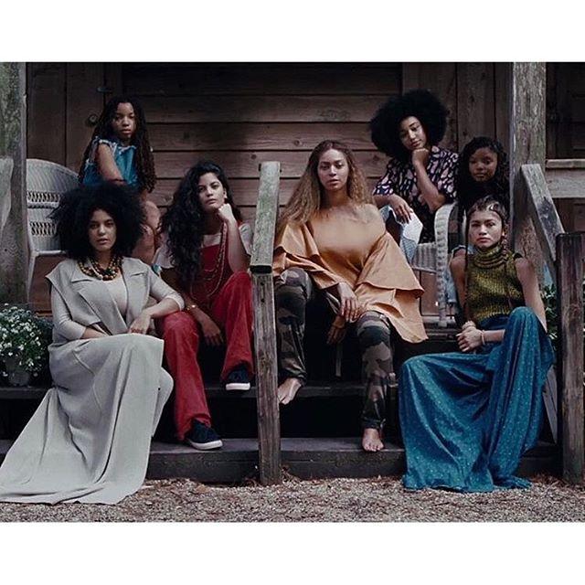 When Hollywood Star Amandla Stenberg 'Slayed' In Nigerian Designer Maki Oh For Beyoncé's Lemonade Video