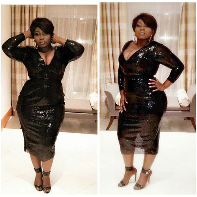 Lydia Forson 'Turns Heads' In A Sexy Black Dress