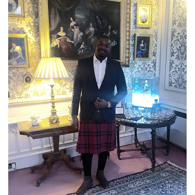 Photos: Don Jazzy & RMD Slay As They Wear 'Skirts' In Scotland
