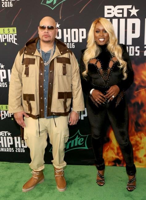(L-R) Fat Joe & Remy Ma