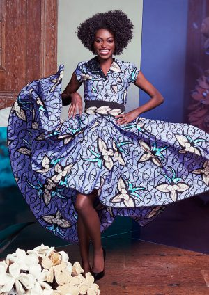 Fabulous! Vlisco & Ivorian Designer Eloi Sessou's Latest Collection Is A Must See