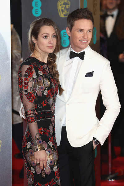 Hannah Bagshawe and Eddie Redmayne