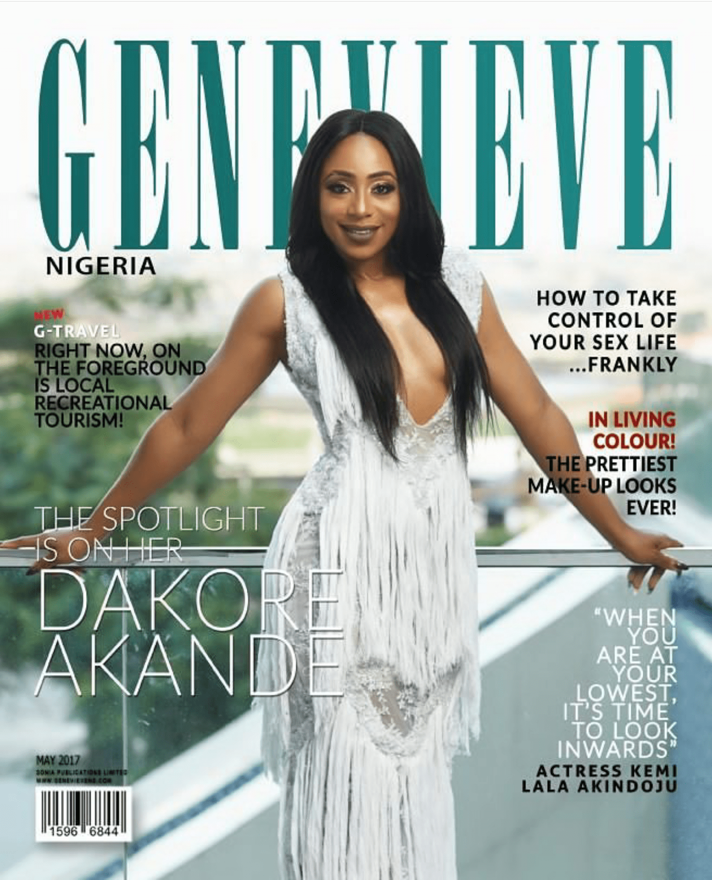 "Nollywood Star Dakore Akande Opens Up About Her Life Says…""Marriage Has Made Me More Patient"""