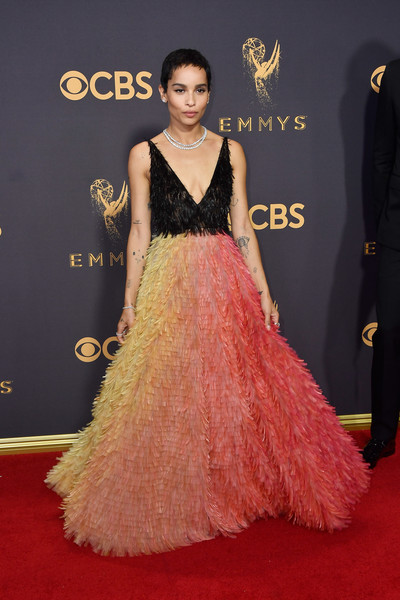 69th-Annual-Primetime-Emmy-Awards-Zoe-Kravitz-emmys-2017