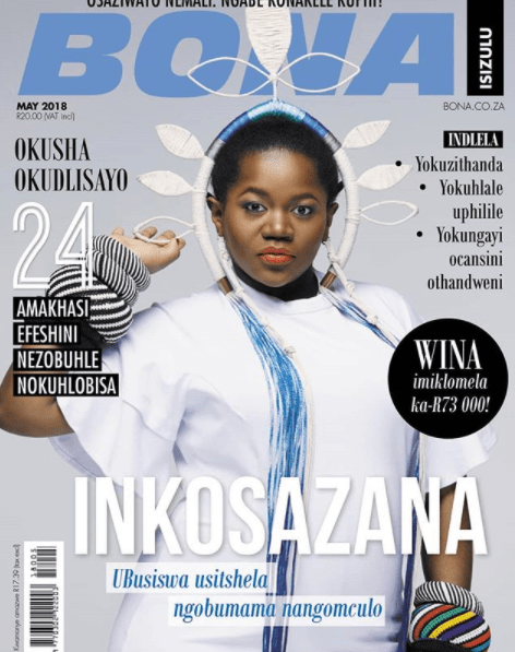 Busiswa Defies The Odds! The South African Singer Scores Her First Magazine Cover