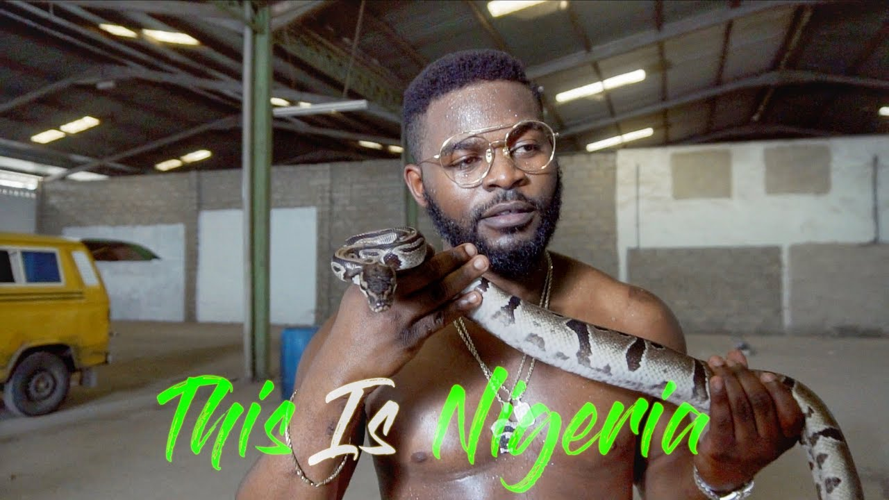 """This is Nigeria"" – Check Out All The Behind The Scenes Action From Falz' New Video"