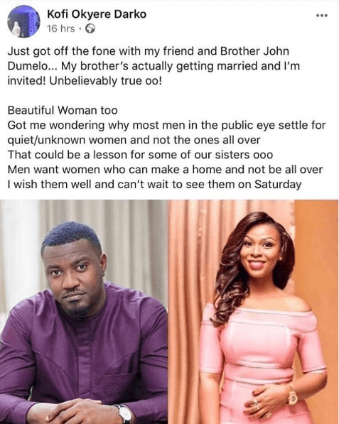 john-dumelo-married