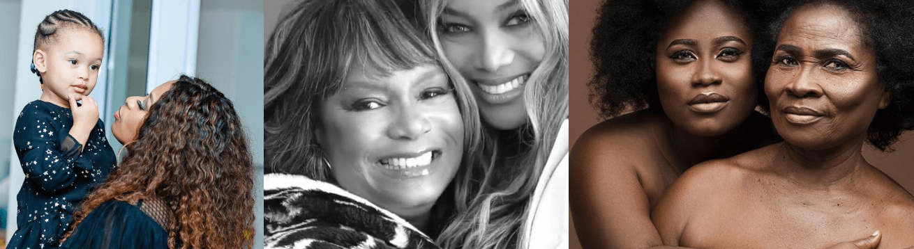How AKA, Tyra Banks, Shatta Wale & Celebs Around The World Celebrated Mother's Day