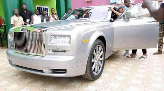 Bishop Obinim Acquires New Rolls Royce