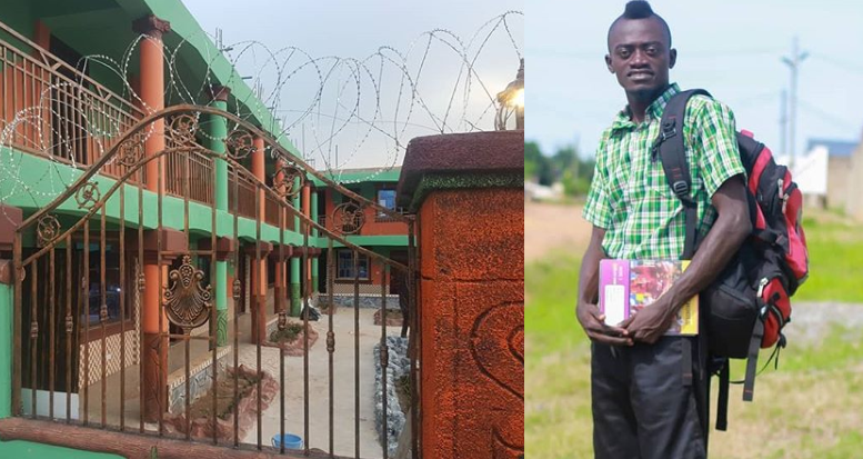 Actor Lil Win Builds School In The Ashanti Region