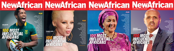 New African releases its 100 Most Influential Africans of 2019