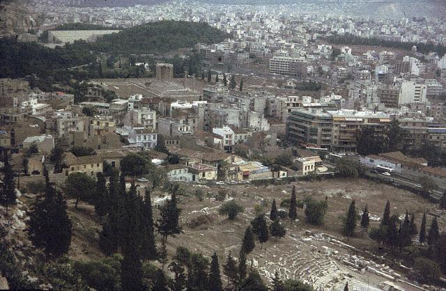 Afina Akropol / Yunanıstan 1972