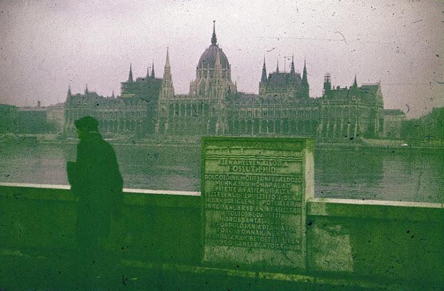 Budapeşt Parlament Binası / Macarıstan 1974