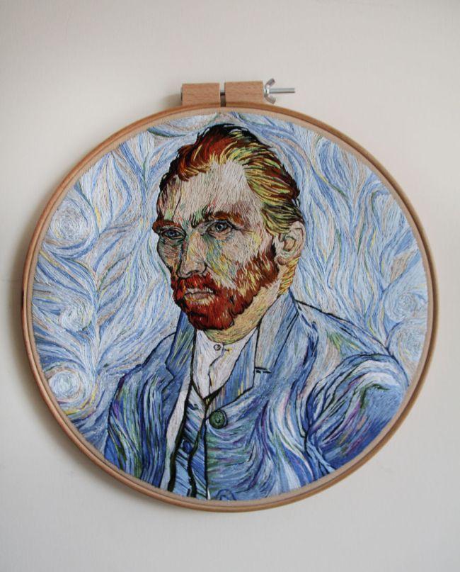 yaaz.az Ezgi Pamir - Vincent van Gogh 2017