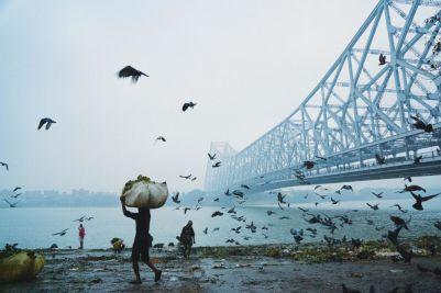 Banqladeşli fotoqraf Mohammad Amir Hamjanın 'Howrah Bridge' çalışması.