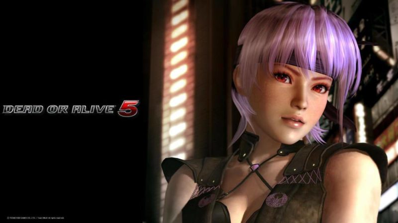 "Ayane จาก ""Dead or Alive"""