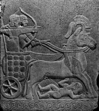 The Hittites relied on their mastery of chariot warfare. Resembles Manuneedhi Chola, Tamil King of Solar Dynasty