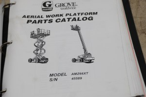 40740006jpg of Grove Manlift Manual Self Propelled