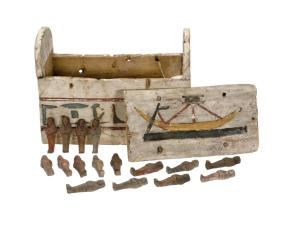 Ushabti and their box