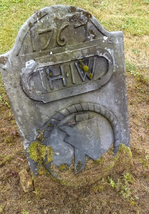 Grave of a farmer in the Abbey Graveyard