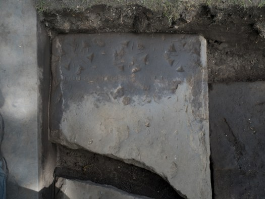 The decorative elements of this fragment start to become clearer