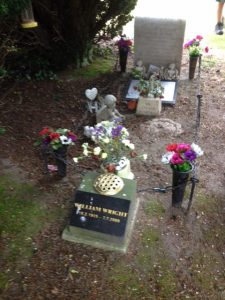 Family Grave Plot that includes grave of miner killed in