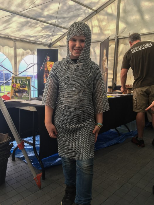 That chainmail again