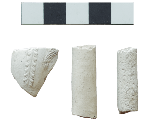 Clay tobacco pipe fragments