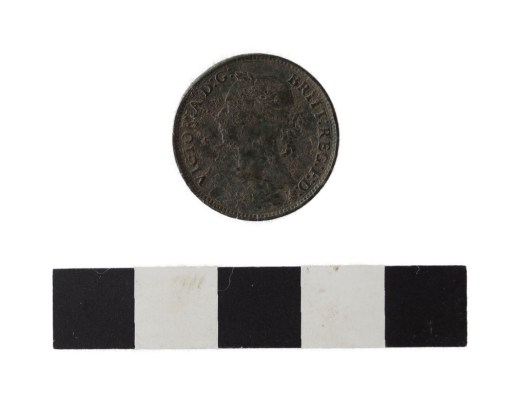 Head of Victorian farthing