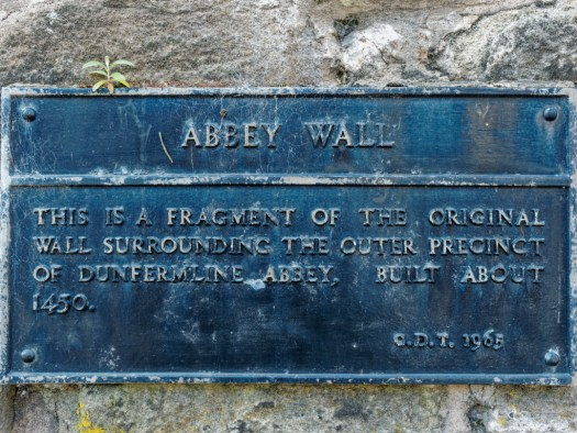 Abbey Wall sign