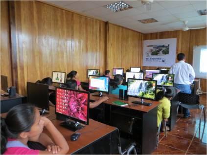 Inicio de actividades en el Telecentro Municipal Pichari
