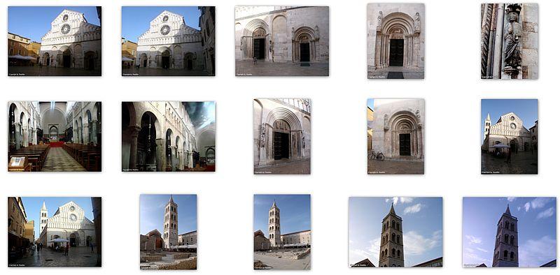 Saint Anastasia Cathedral In Zadar