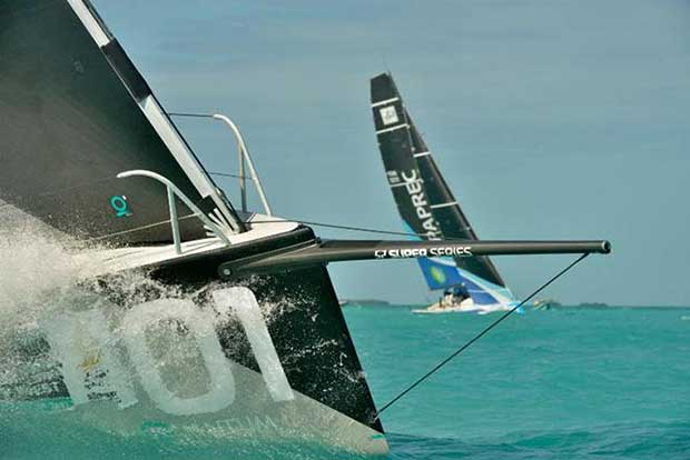 52 SuperSeries entries practiced today for tomorrow's start to racing in Division 1 - photo Quantum Key West Race Week © PhotoBoat.com