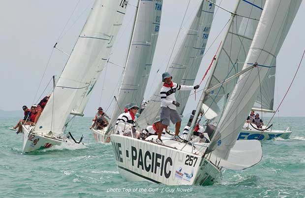 Platus racing for the Coronation Cup, Top of the Gulf Regatta, Pattaya © Guy Nowell/Top of the Gulf