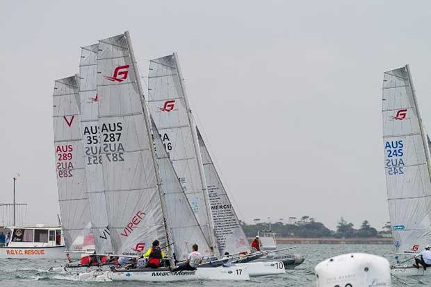 Day 1 – Race start - Viper World Championships © LaFoto