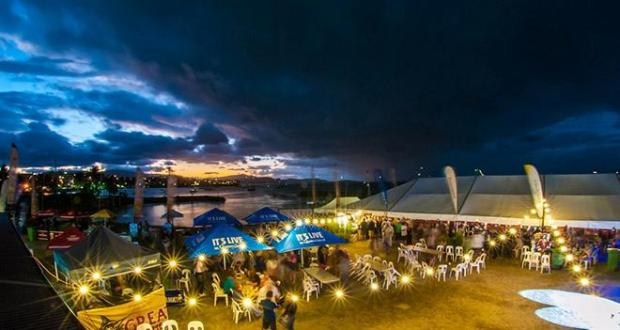 Evening entertainment at Airlie Beach Race Week's Festival of Sailing © Vampp Photography