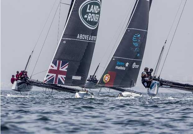Land Rover BAR Academy finished seventh overall - GC32 Championship © Jesus Renedo / GC32 Championship Oman