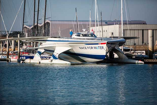 Three days of festivities in Lorient for the Race for Water Odyssey. © Race for Water / Peter Charaf
