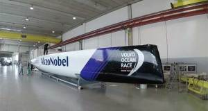 new-build Volvo Ocean 65, which will be raced by team AkzoNobel in 2017-18