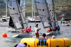 Plenty of racing action and beachside fun for spectators at the Nonsuch Bay RS Elite Challenge on Presidente Lay Day © Paul Wyeth / pwpictures.com http://www.pwpictures.com