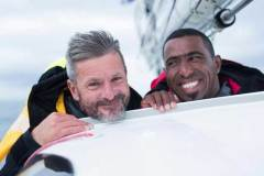 Sidney Gavignet will compete Two Handed in Oman Sail Class40 with Omani sailor Fahad al Hasni © Lloyd Images/Oman Sail http://www.omansail.com