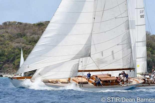 Danish boats - St. Thomas International Regatta Dean Barnes
