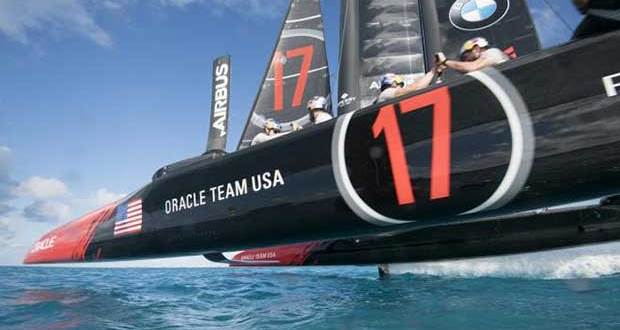 Oracle Team USA - 2017 America's Cup Sam Greenfield/Oracle Team USA http://www.oracleteamusa.com