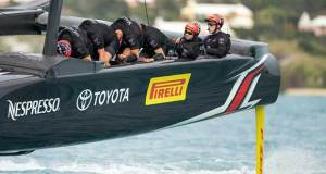 Pirelli has signed on with Emirates Team New Zealand Hamish Hooper/Emirates Team NZ http://www.etnzblog.com