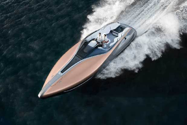 Lexus reveals its step into yacht design with the Lexus Sport Yacht.