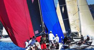Ginger and Maserati and other boat on Pittwater Winter Series RPAYC © Bob Fowler