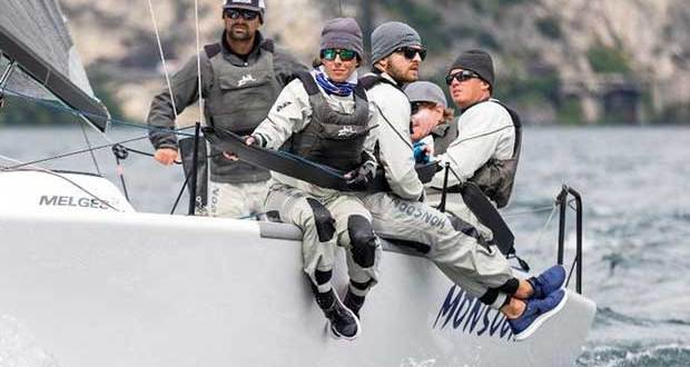 Bruce Ayres' Monsoon USA851 took a bullet from Race 3 today being on the fourth position in overall ranking after four races - Melges 24 European Sailing Series © IM24CA/ZGN/Mauro Melandri